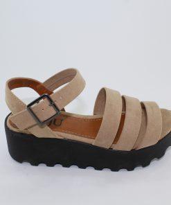 e13d6a0b3 SANDÁLIA TRATORADA NUDE – Roju Moda, Calçados e Acessórios